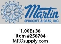 Martin Sprocket 100E37 SPK ROLLER QD