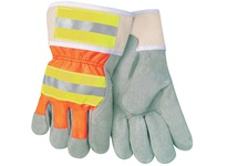 MCR 12440RL Hi-Vis Reflective 2.5 Rubberized Safety Cuff