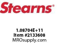 STEARNS 108704200165 BRSTHRU SHAFTREL ROD SW 8031776
