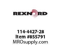 REXNORD 114-4427-28 KU6085-16T 1-15/16 KW2SS KU6085-16T SOLID SPROCKET WITH 1-15