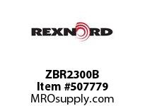 ZBR2300B FLANGE CARTRIDGE BLK W/ND 6801881