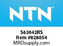 NTN S63042RS Extra Small/Small Ball Bearing