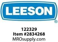 Leeson 122329 21800.145JMV.OPEN.230/460V.3.60/50H Z.CONT.40CC-FACE :