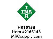 INA HK1015B Drawn cup needle bearing