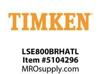 TIMKEN LSE800BRHATL Split CRB Housed Unit Assembly