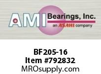 AMI BF205-16 1 NARROW SET SCREW 4-BOLT FLANGE BEARING