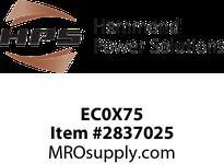 HPS EC0X75 FUSE KIT RATED 250V 0.75A Control Fuse Kit