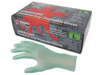 MCR 5025XL SensaGuard Vinyl Disposable Industrial/Food Service Grade Powdered Green