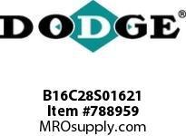 DODGE B16C28S01621 BB1683 280-CC 16.21 4-3/8 S SHFT