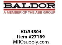 BALDOR RGA4804 RGA BRK RES ASSY 4800W 4.3 OHMS 1