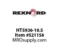 REXNORD HT5936-10.5 HT5936-10.5 168994