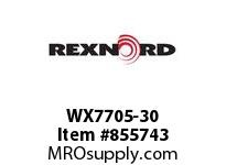 REXNORD WX7705-30 WX7705-30 WX7705 30 INCH WIDE MATTOP CHAIN WI