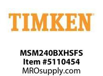 TIMKEN MSM240BXHSFS Split CRB Housed Unit Assembly
