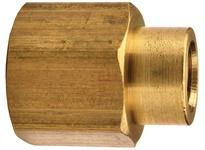 "DIXON 3770804C 1/2"" x 1/4"" NPTF Brass Reducer Coupling"