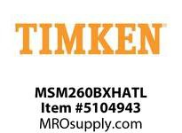 TIMKEN MSM260BXHATL Split CRB Housed Unit Assembly