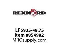 REXNORD LF5935-48.75 LF5935-48.75 LF5935 48.75 INCH WIDE MATTOP CHAIN