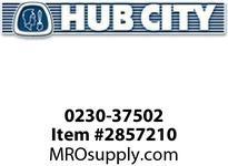HUB CITY 0230-37502 4507 75/1 WR STD FLANGE Worm Gear Drive