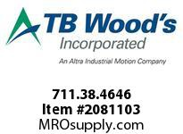 TBWOODS 711.38.4646 MULTI-BEAM 38 19MM--19MM