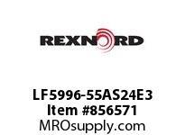REXNORD LF5996-55AS24E3 LF5996-55 3AS-T24P LF5996 55 INCH WIDE MATTOP CHAIN WI