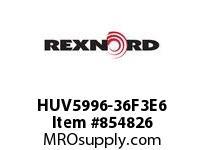 REXNORD HUV5996-36F3E6 HUV5996-36 F3 T6P N3 HUV5996 36 INCH WIDE MATTOP CHAIN W