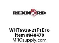 REXNORD WHT6938-21F1E16 WHT6938-21 F1 T16P WHT6938 21 INCH WIDE MATTOP CHAIN W