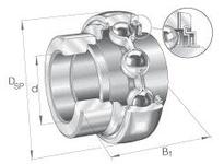 INA GE35KLLHB Radial insert ball bearing
