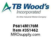 TBWOODS P6814M170M P68-14M-170-M SYNCH SPROCK
