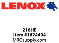 Lenox 218HE 12^^ 18T BM HACKSAW BLADE