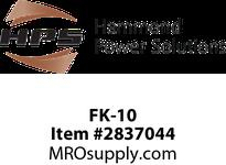 HPS FK-10 FUSE KIT 1REJ PRI MIDGET SEC Machine Tool Encapsulated Control Transformers