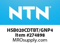 NTN HSB020CDTBT/GNP4 PRECISION BALL BRG