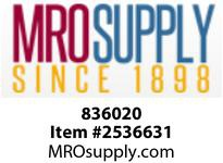 MRO 836020 2 MIP X SLIP SC80 PVC ADAPTER