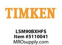 TIMKEN LSM90BXHFS Split CRB Housed Unit Assembly