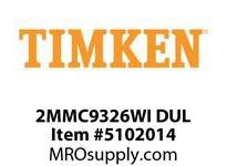TIMKEN 2MMC9326WI DUL Ball P4S Super Precision