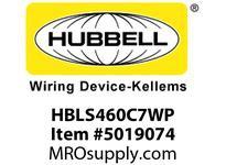 HBL_WDK HBLS460C7WP SW CONN3P4W60A 3P 480V4X/IP69kPILOT