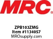 MRC ZPB103ZMG PILLOW BLOCK WASH DOWN