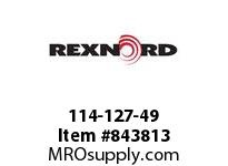 REXNORD 114-127-49 TP AS1873K6 AS1873 TAB 6 INCH WIDE TABLETOP CHA