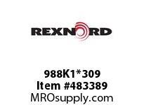 REXNORD 6180463 988K1*309 CST 988/488 K1 EV2 P/C