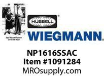WIEGMANN NP1616SSAC PANELULTIMATESS31614.2X14.2