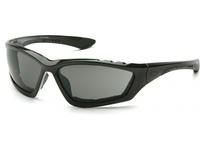 Pyramex SB8720DTP Black Padded Frame/Gray Anti-Fog Lens