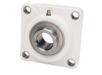 IPTCI Bearing SUCTF207-20 BORE DIAMETER: 1 1/4 INCH HOUSING: 4 BOLT FLANGE HOUSING MATERIAL: POLYMER