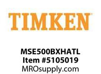 TIMKEN MSE500BXHATL Split CRB Housed Unit Assembly