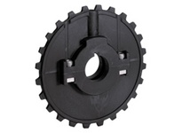 614-107-30 NS5936-24T Thermoplastic Split Sprocket With Keyway TEETH: 24 BORE: 30mm Round
