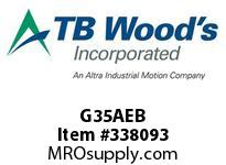 TBWOODS G35AEB 3 1/2 EB ACCY KIT