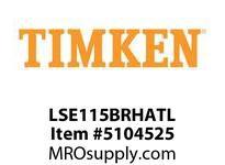 TIMKEN LSE115BRHATL Split CRB Housed Unit Assembly