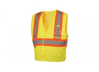 Pyramex RVHL2710BRX5 Hi-Vis Lime with 5 Point Break - Size 5X Large