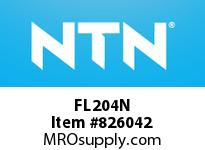 NTN FL204N Bearing Units - Cast Housing