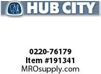 HUBCITY 0220-76179 SS325 60/1 A WR 143TC 1.938 SS WORM GEAR DRIVE
