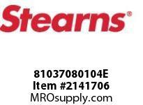 STEARNS 81037080104E SLINGER ASSY-1.125 BORE 8017615
