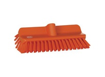 REMCO 70477 Vikan Scrub Broom High-Low Brush- Orange