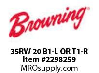 Morse MN0029 35RW 20 B1-L OR T1-R